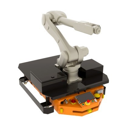 Adapter dotransportu ramienia robotycznego dorobota FlatRunner HT