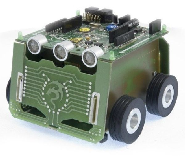 MAOR-12T  - robot mobilny klasy miniSUMO
