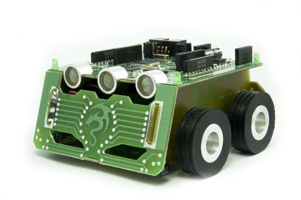 MAOR-12v2  - robot mobilny klasy miniSUMO