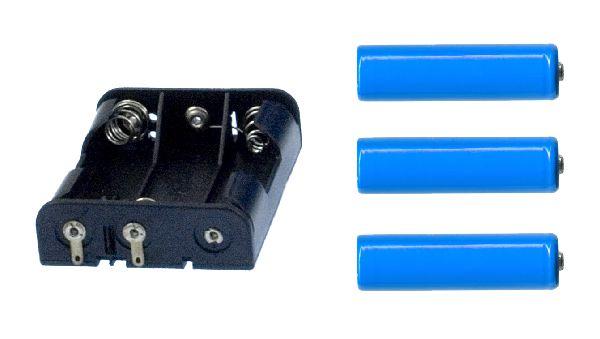 MOBOT-KB3  koszyk dla 3 baterii typu