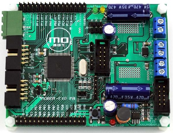 MOBOT-MBv2-AVR  - Sterownik robota mobilnego zprocesorem 8-bit