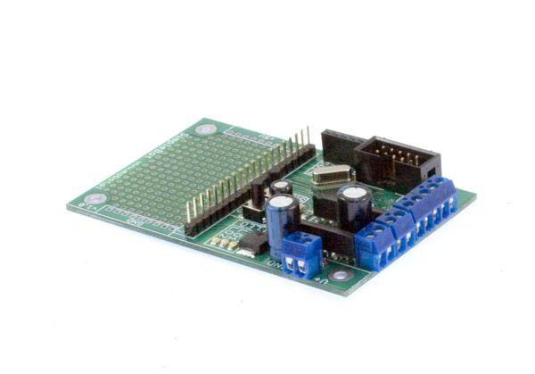 MOBOT-SimpleBot  -Płyta sterująca dla małego robota mobilnego