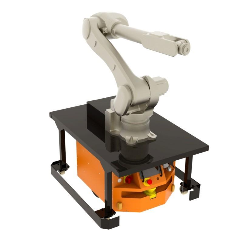Adapter dotransportu ramienia robotycznego dorobota CubeRunner