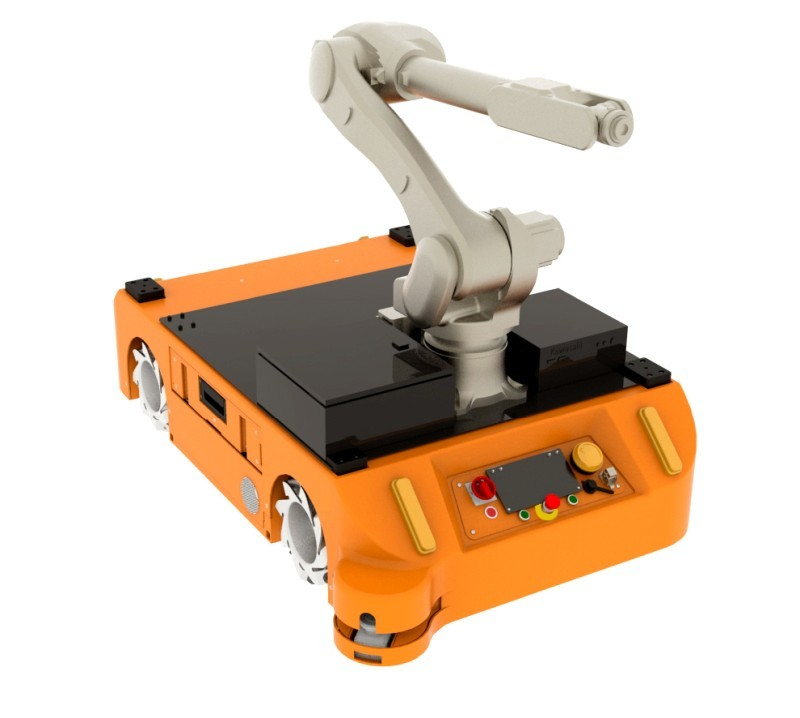 Adapter dotransportu ramienia robotycznego dorobota FlatRunner MW