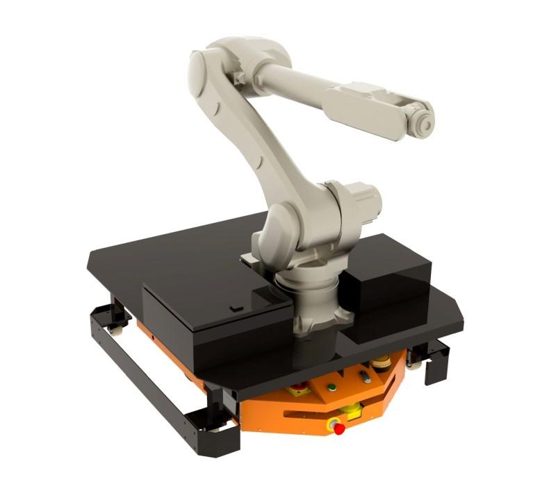 Adapter dotransportu ramienia robotycznego dorobota FlatRunner