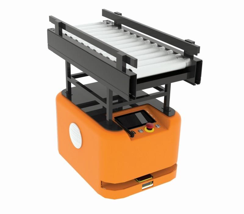 Adapter zautomatycznymi rolkami dorobota eRunner