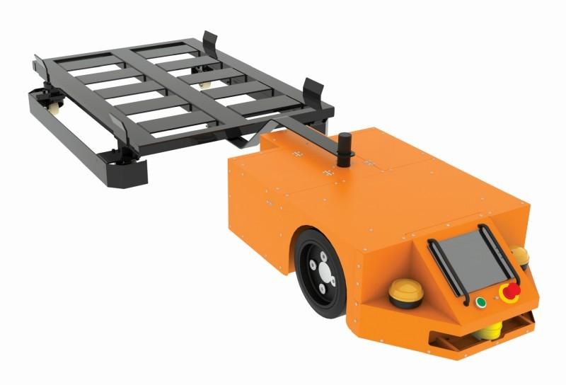 Wózek zkołami skrętnymi dorobota EcoRunner